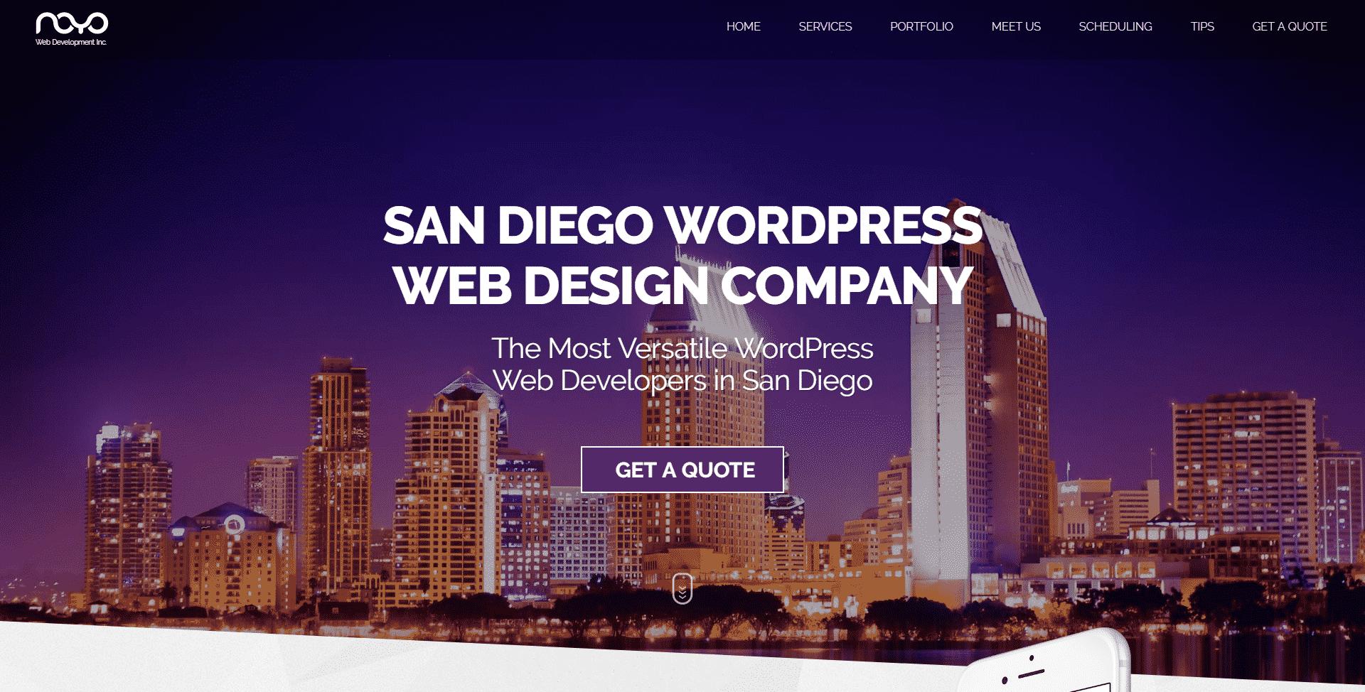 #1 San Diego WordPress Web Design, WordPress Web Developers